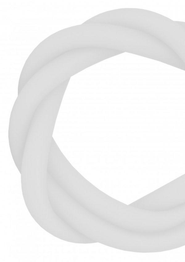 Z-0062 Silikonschlauch Matt - Weiß
